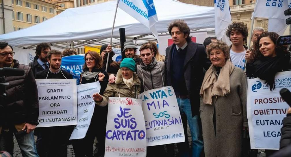 Eutanasia Legale: il 13 settembre davanti al Parlamento!