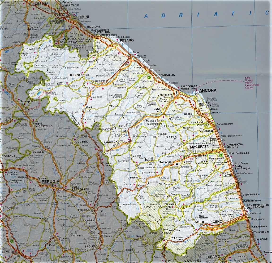 Cartina Politica Regione Marche.La Regione Marche Chiede Un Impegno Al Governo Sul Fine Vita Eutanasia Legale Associazione Luca Coscioni