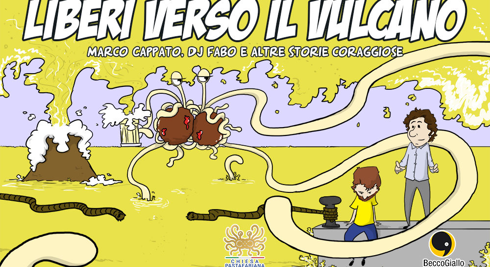 """""""Liberi verso il vulcano"""", un fumetto a sostegno dell'Eutanasia Legale"""