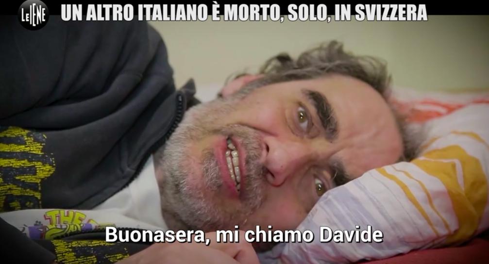 """""""Mi chiamo Davide. Sono in Svizzera per porre fine ai miei dolori"""""""